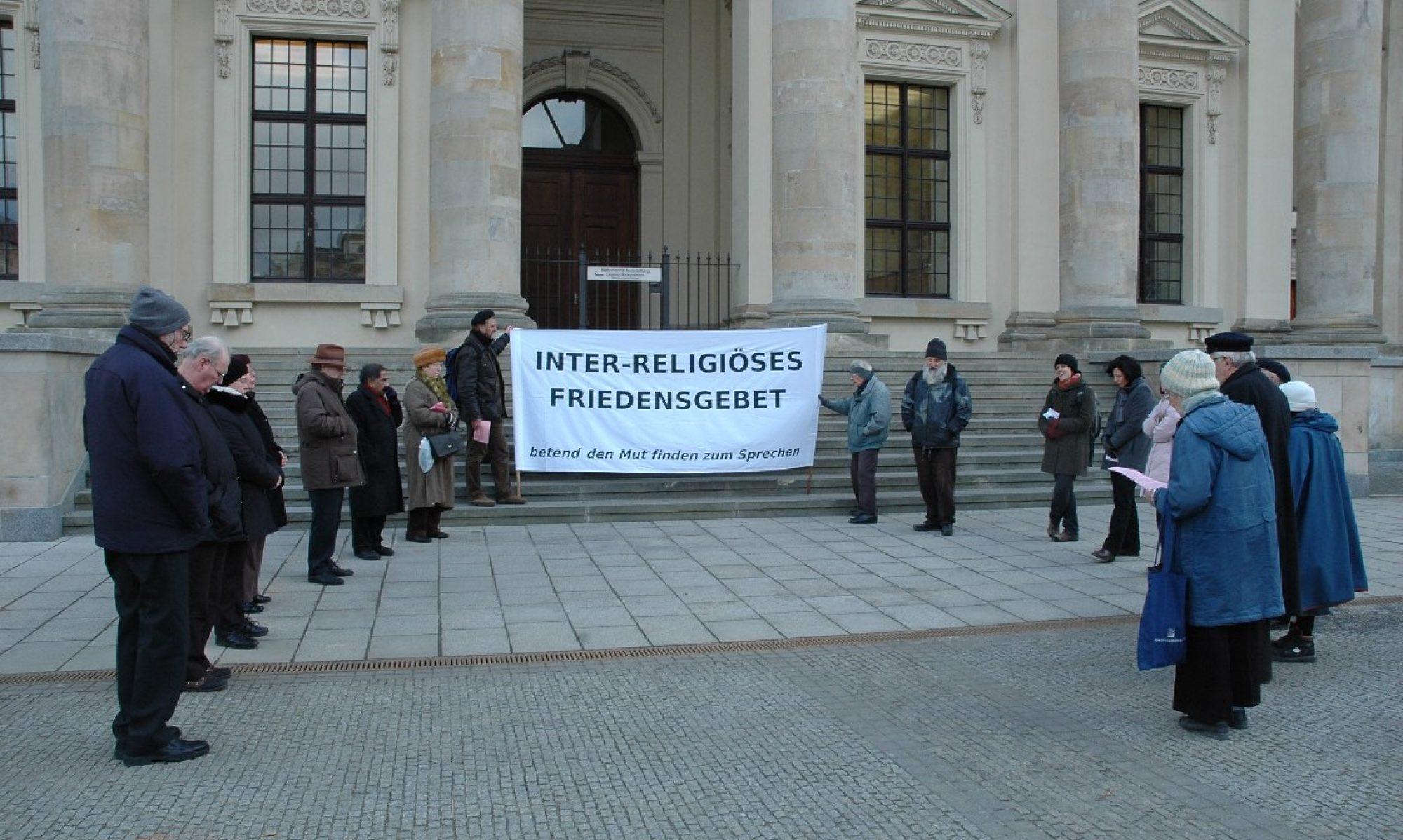 Interreligiöses Friedensgebet Berlin